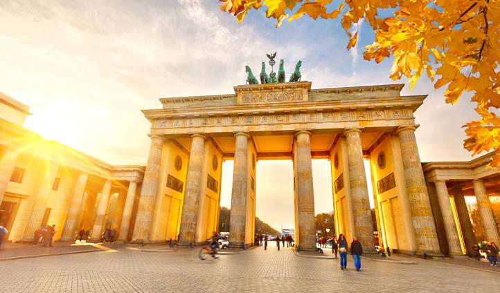 Berlin's iconic Brandenburg Gate