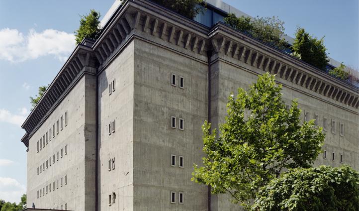 Visit the WWII bunker that houses the Sammlung Boros Collection (Außenansicht Bunker Foto: © NOSHE)