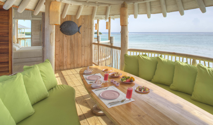 Gourmet dining without even leaving your villa