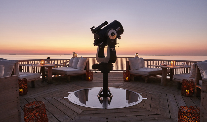 Dinner in the Observatory is guaranteed to leave you 'So Starstruck'