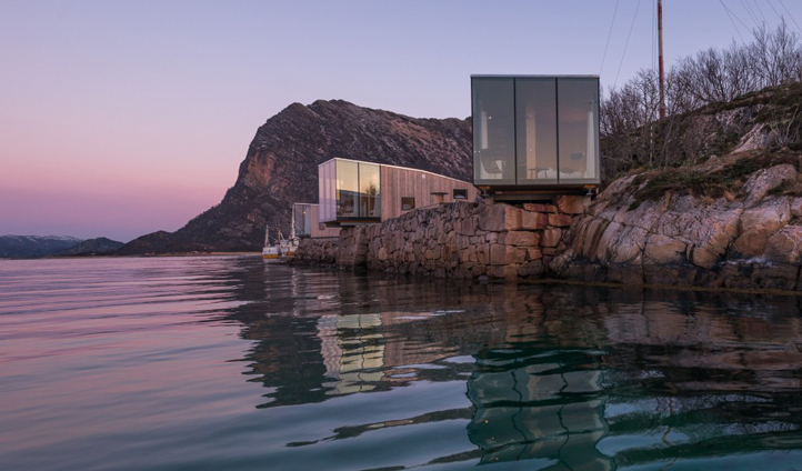 The stunning Snorre Stinessen designed seacabins