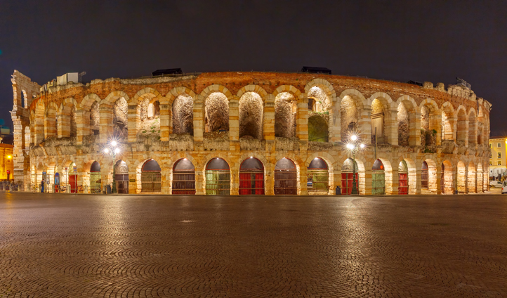 There is nowhere quite like the Arena di Verona for opera