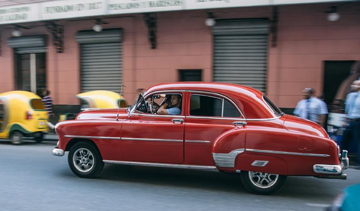 Cuba cruising