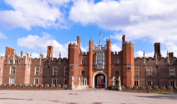 Visit the home of King Henry VIII at Hampton Court Palace