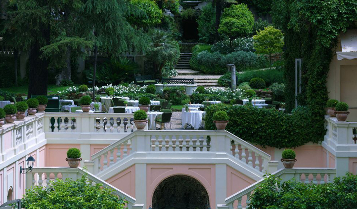 Hotel de Russie's Secret Garden is a real treat in bustling Rome