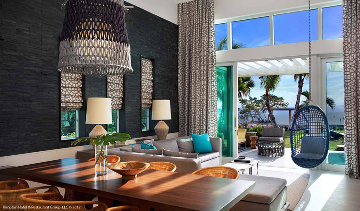 Sink into Cayman style at the Kimpton Seafire Resort + Spa