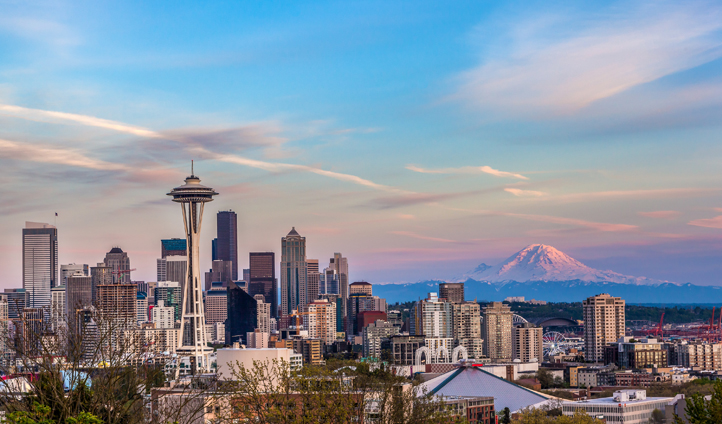 Head up to the top of the Space Needle for epic views