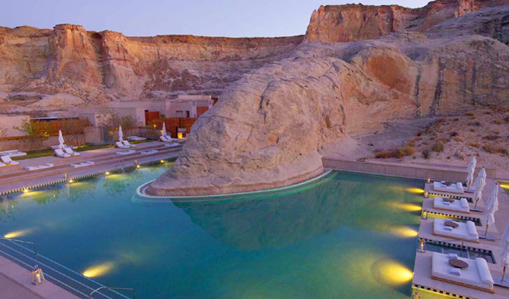 Tear yourself away from the pool at Amangiri (if you can) to explore Canyon Point