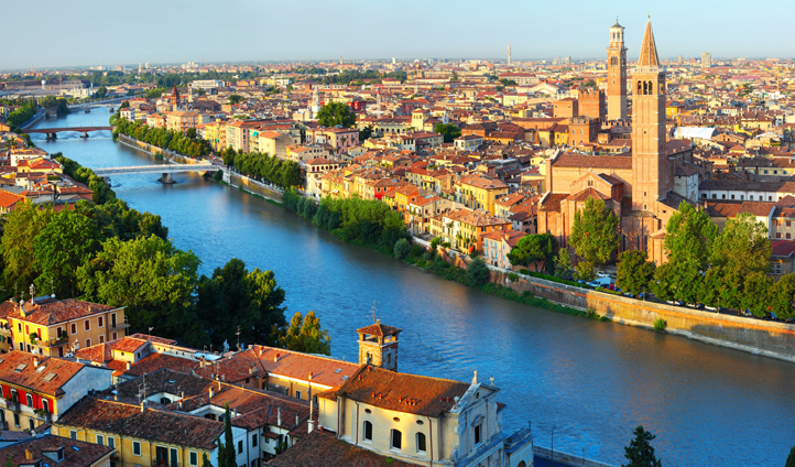 Fall in love with beautiful Verona