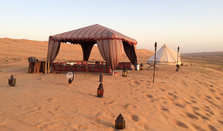 Your private desert camp