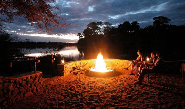 Swap stories around the campfire
