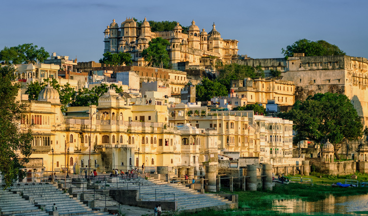 Explore the many palaces of Udaipur