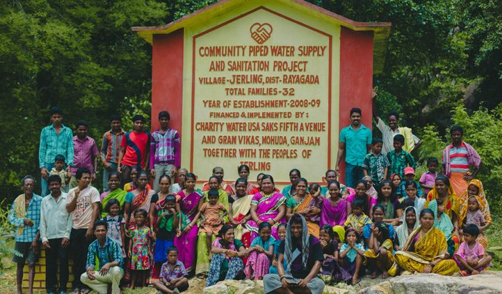 Since 2008, charity: water have funded over 2,000 projects in India