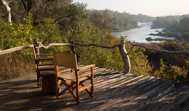 Sit back and marvel at the sights and sounds of nature on your private deck