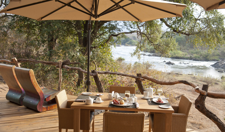 Dine out in the bush
