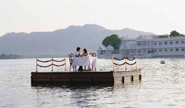 Unique dining experiences at Taj Lake Palace