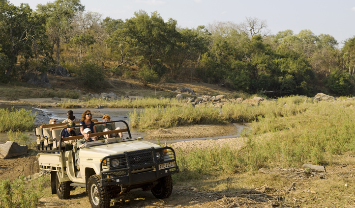 Explore Mkulumadzi's 7,000 hectares on a game drive