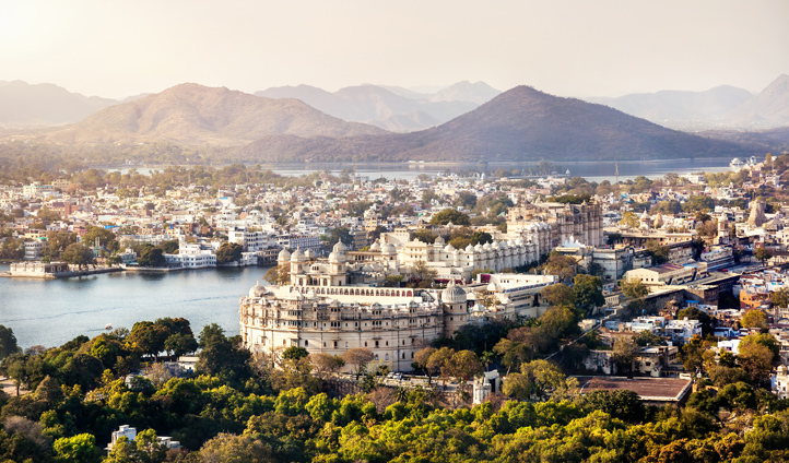 Udaipur is one of India's most beautiful cities