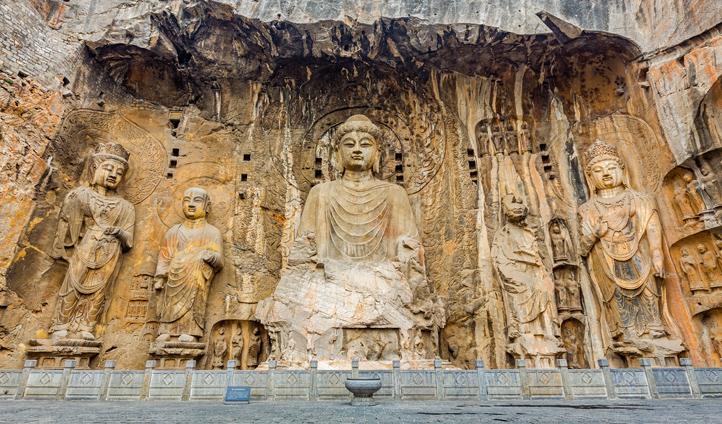Escape the crowds in Luoyang and explore the Longmen Grottoes
