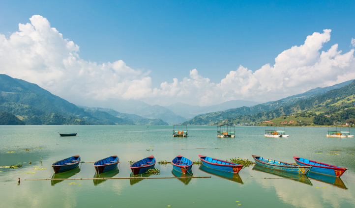 Explore the lake dappled region of Pokhara