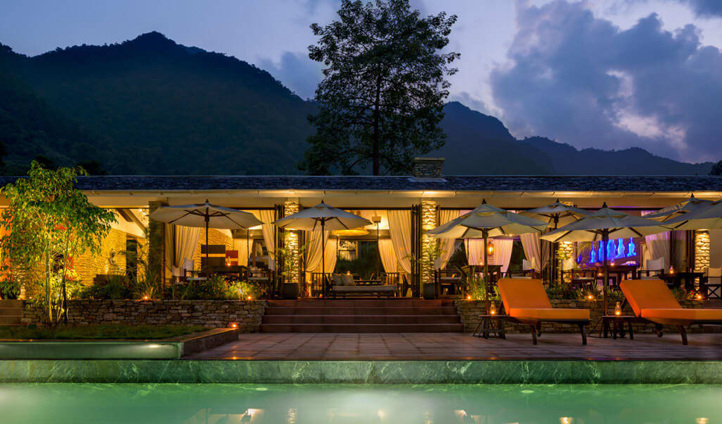 The Pavilions Himalayas is a luxury boutique resort with heart