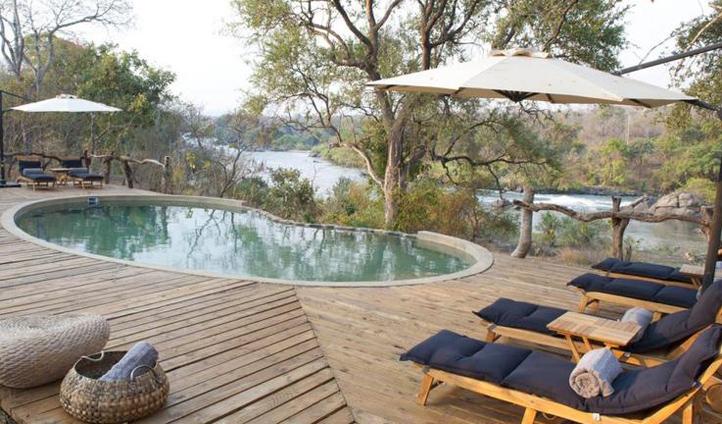 Cool down in the pool at Mkulumadzi