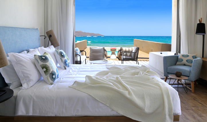 Wake up to beautiful sea views