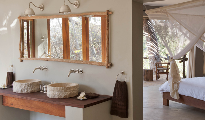 Natural decor to a luxury standard