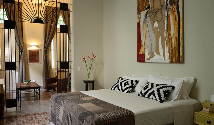 Discover Cuban decor in a Copella Suite