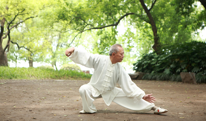 Feel everyday stresses melt away with the help of a Taiji Master