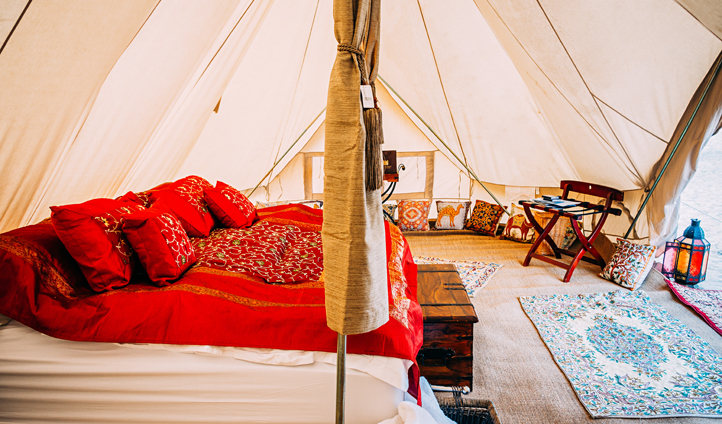 A desert glamping experience like no other