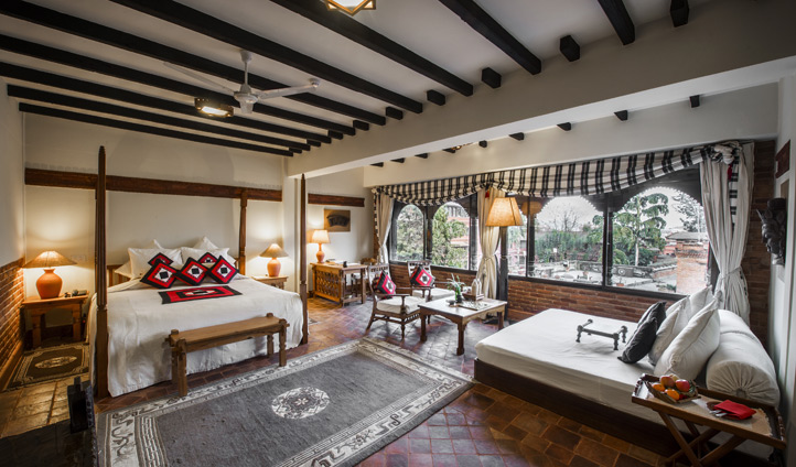 A luxurious space to retreat to in the heart of Kathmandu