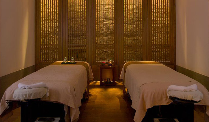 Indulge in a signature treatment at the spa