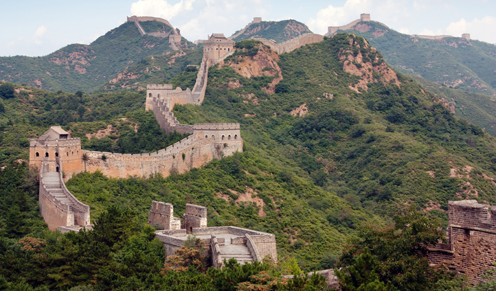 Traverse the iconic Great Wall of China