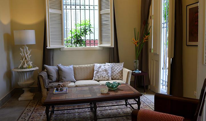 Your living quarters in the Coppelia suite