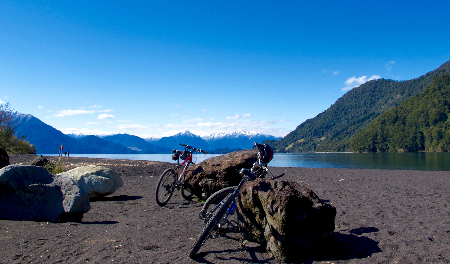 Embark on a biking adventure in the Chilean Lake District