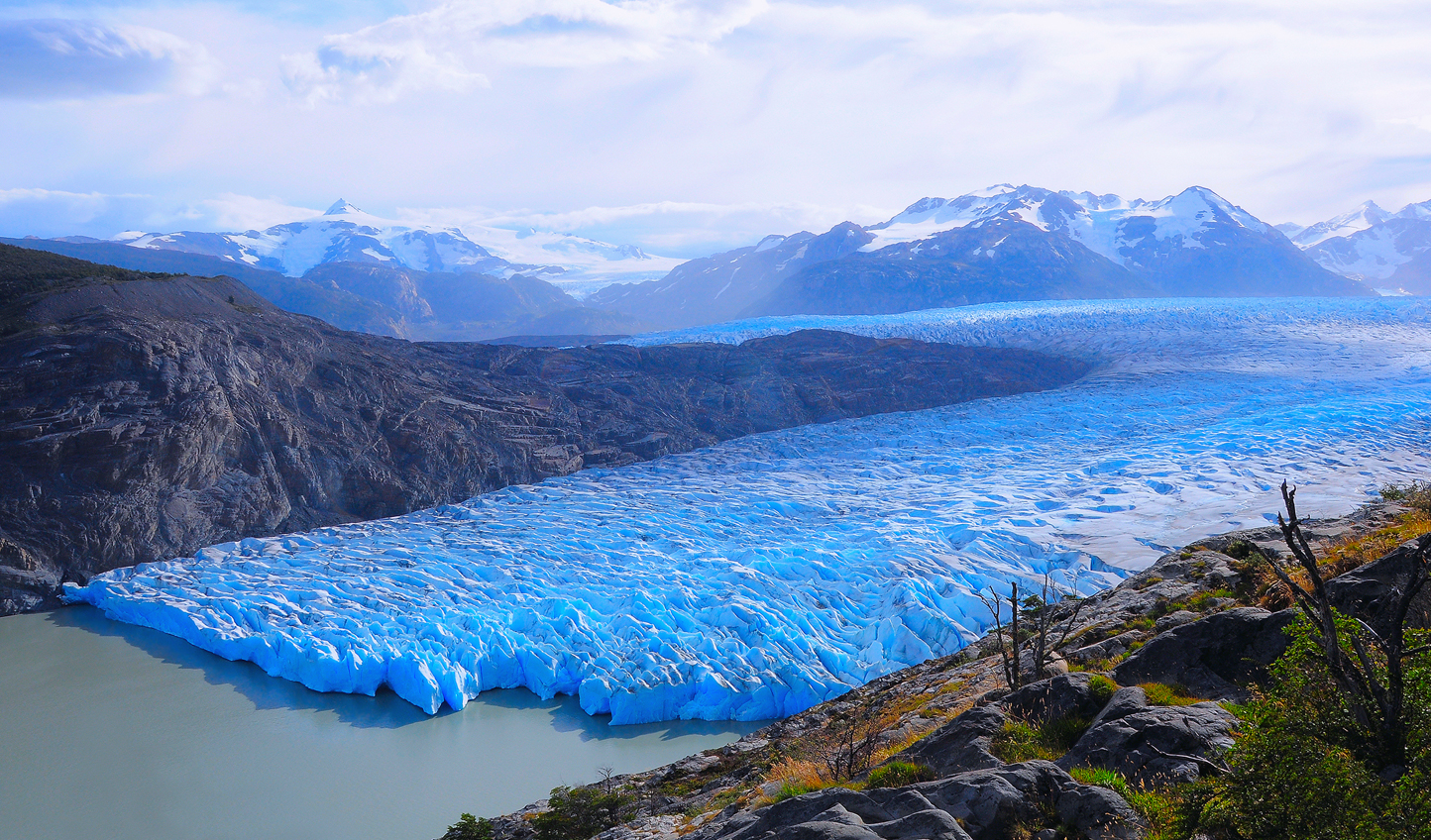 Hike to the mighty Grey Glacier