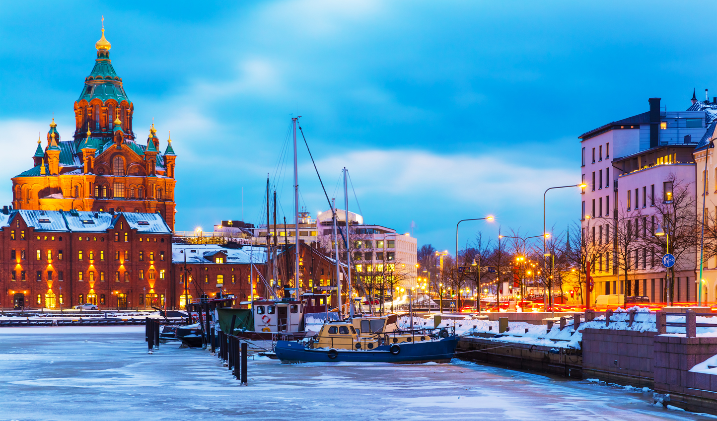Helsinki is all the more beautiful in the winter months