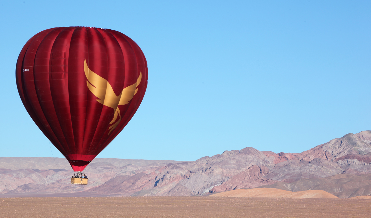 Get a bird's eye view of the Atacama from a hot air balloon