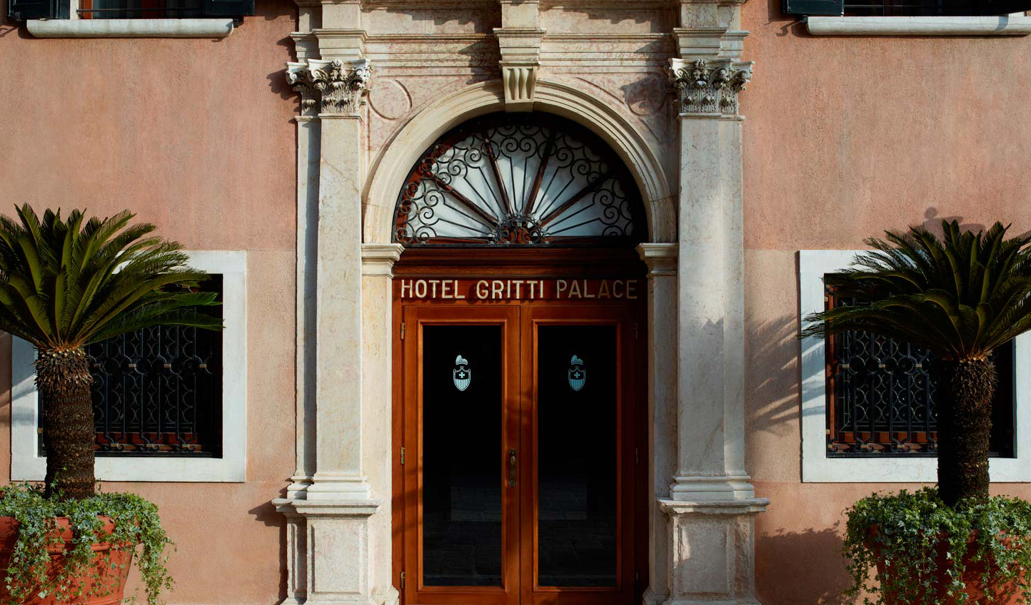 Welcome to the Hotel Gritti Palace