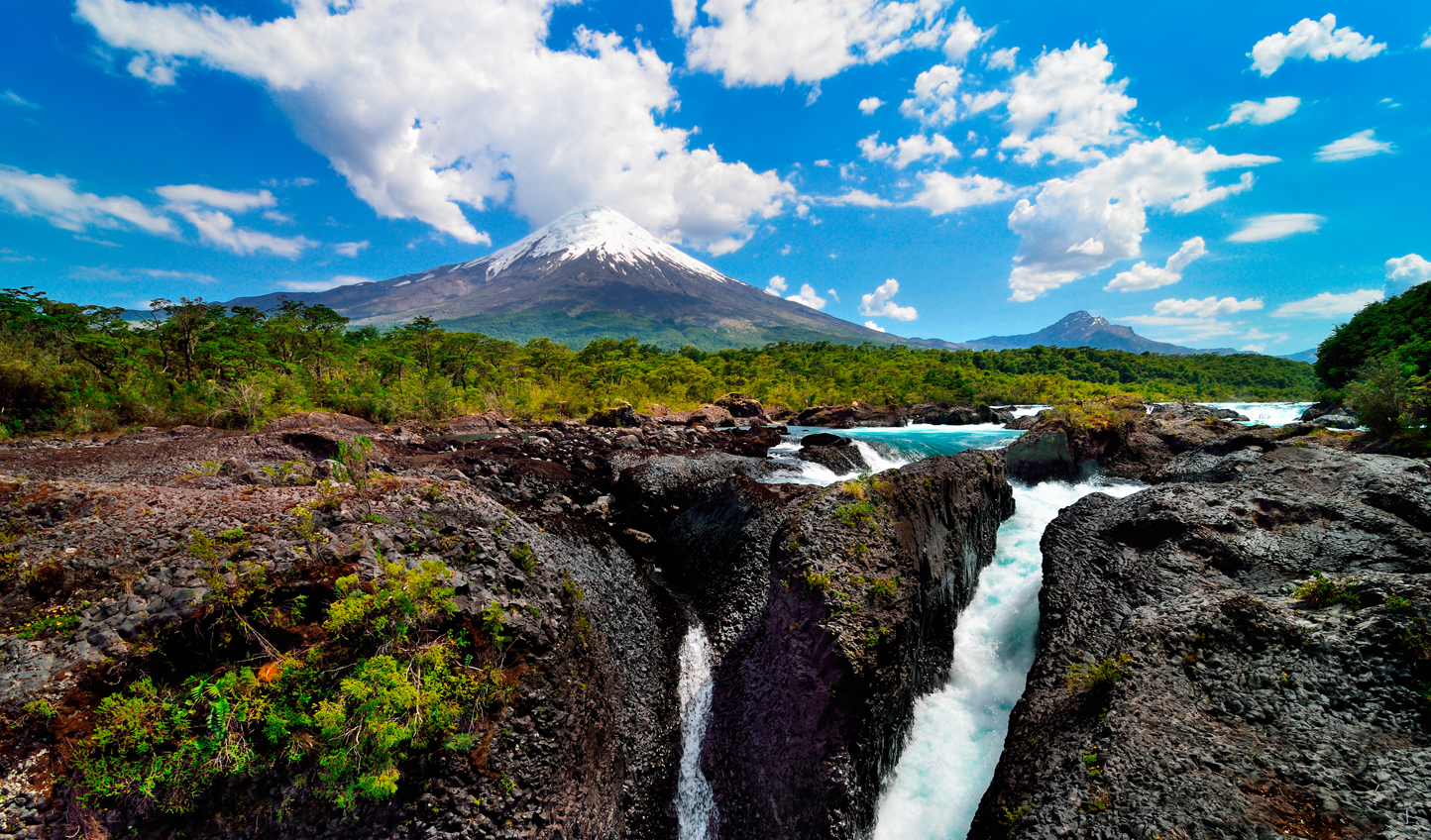 Enjoy majestic views of Osorno Volcano
