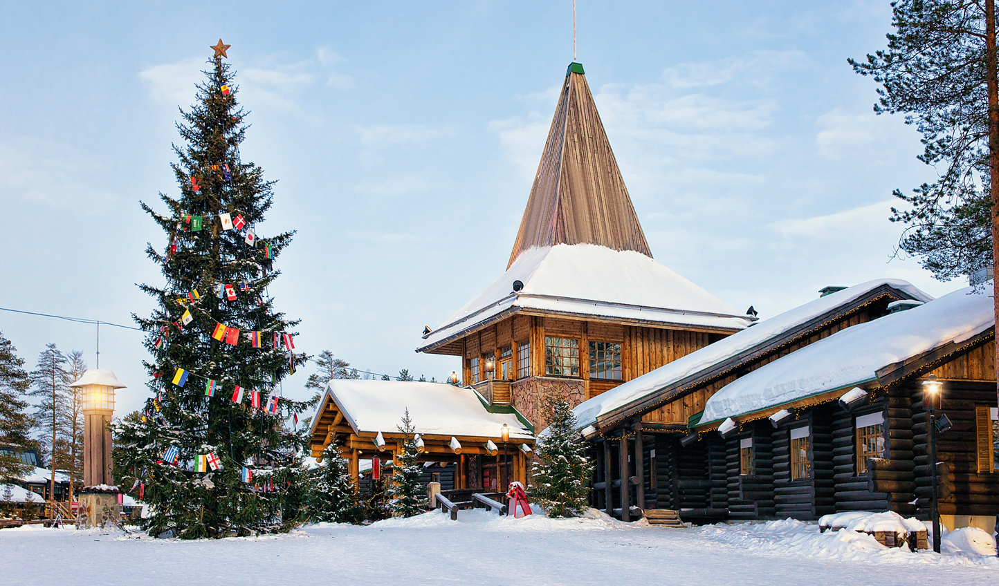 Visit Father Christmas in Santa Claus Village