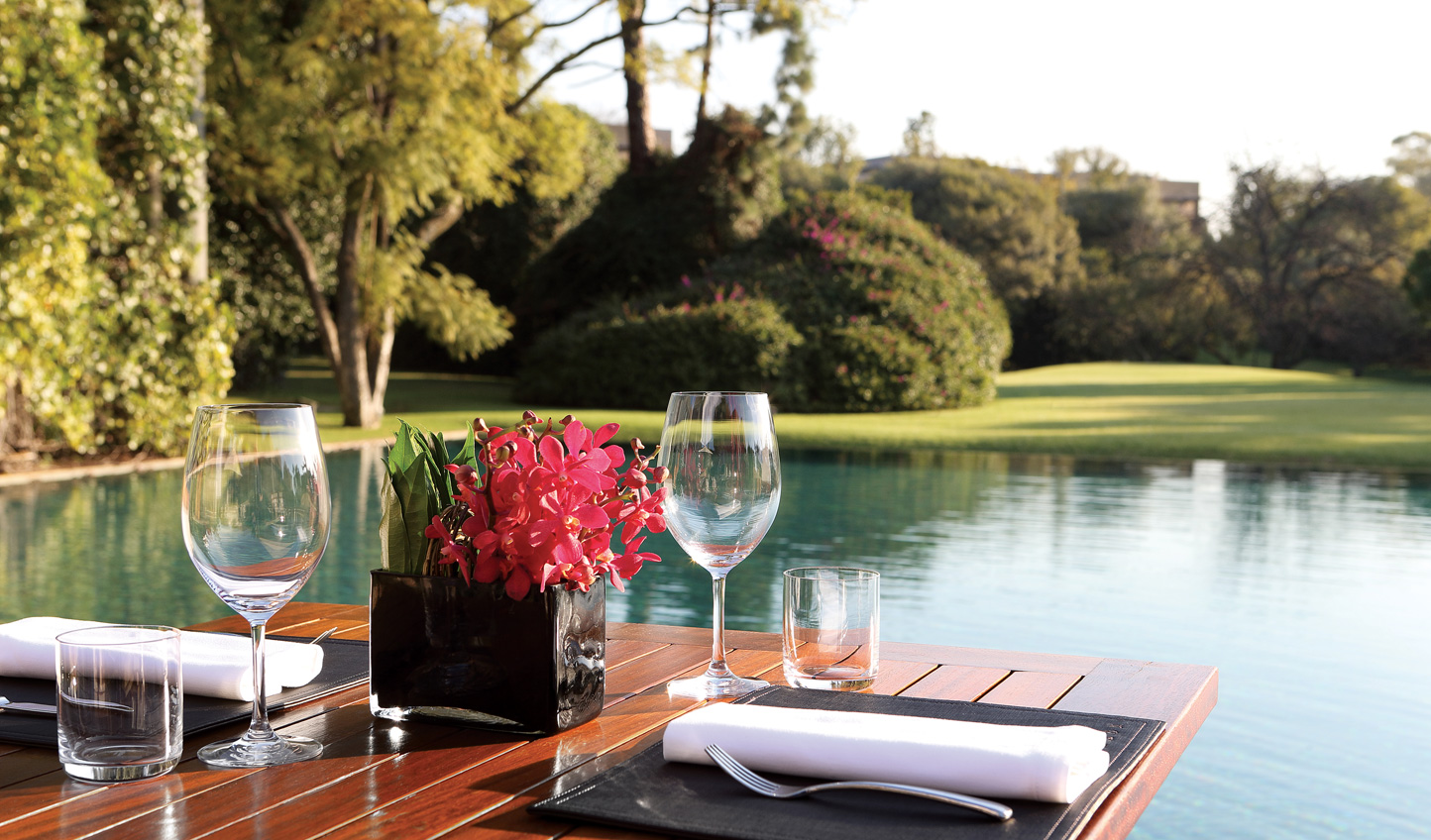 Enjoy a light lunch on the Terrace