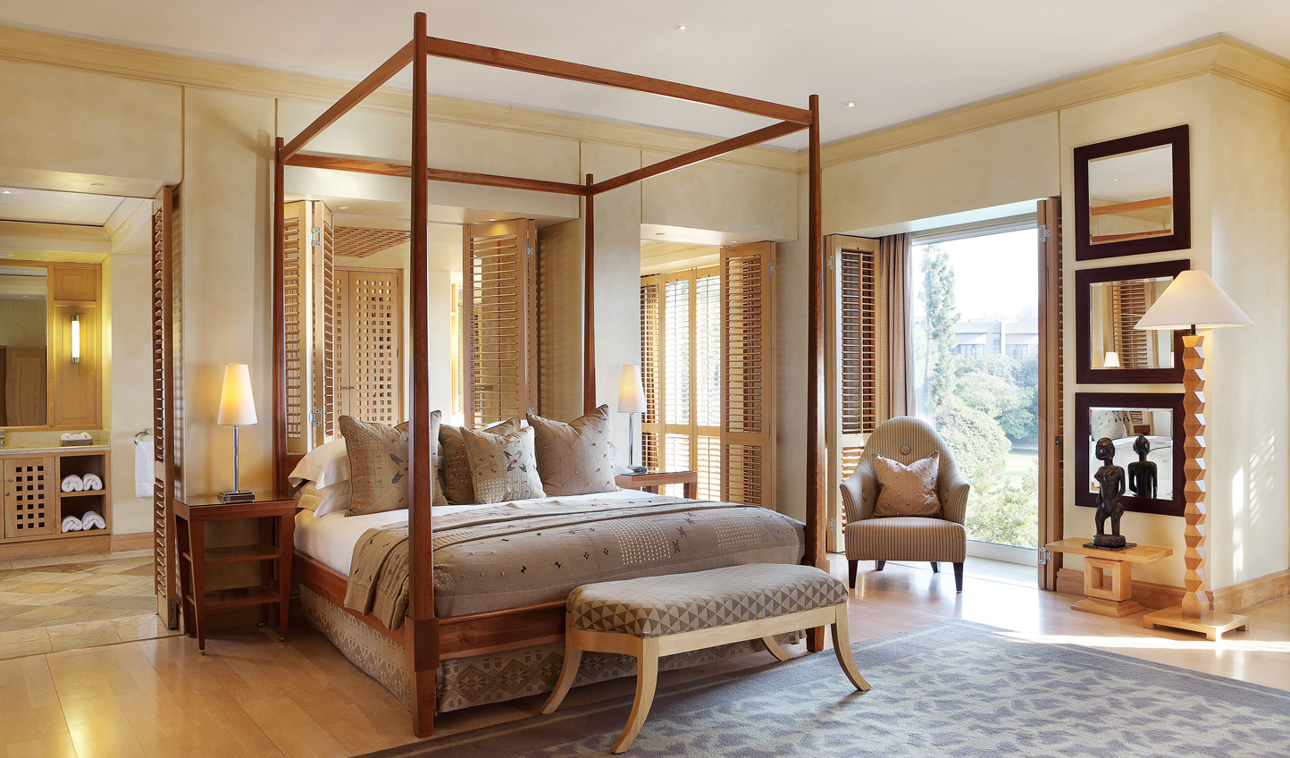 Your suite at the Saxon
