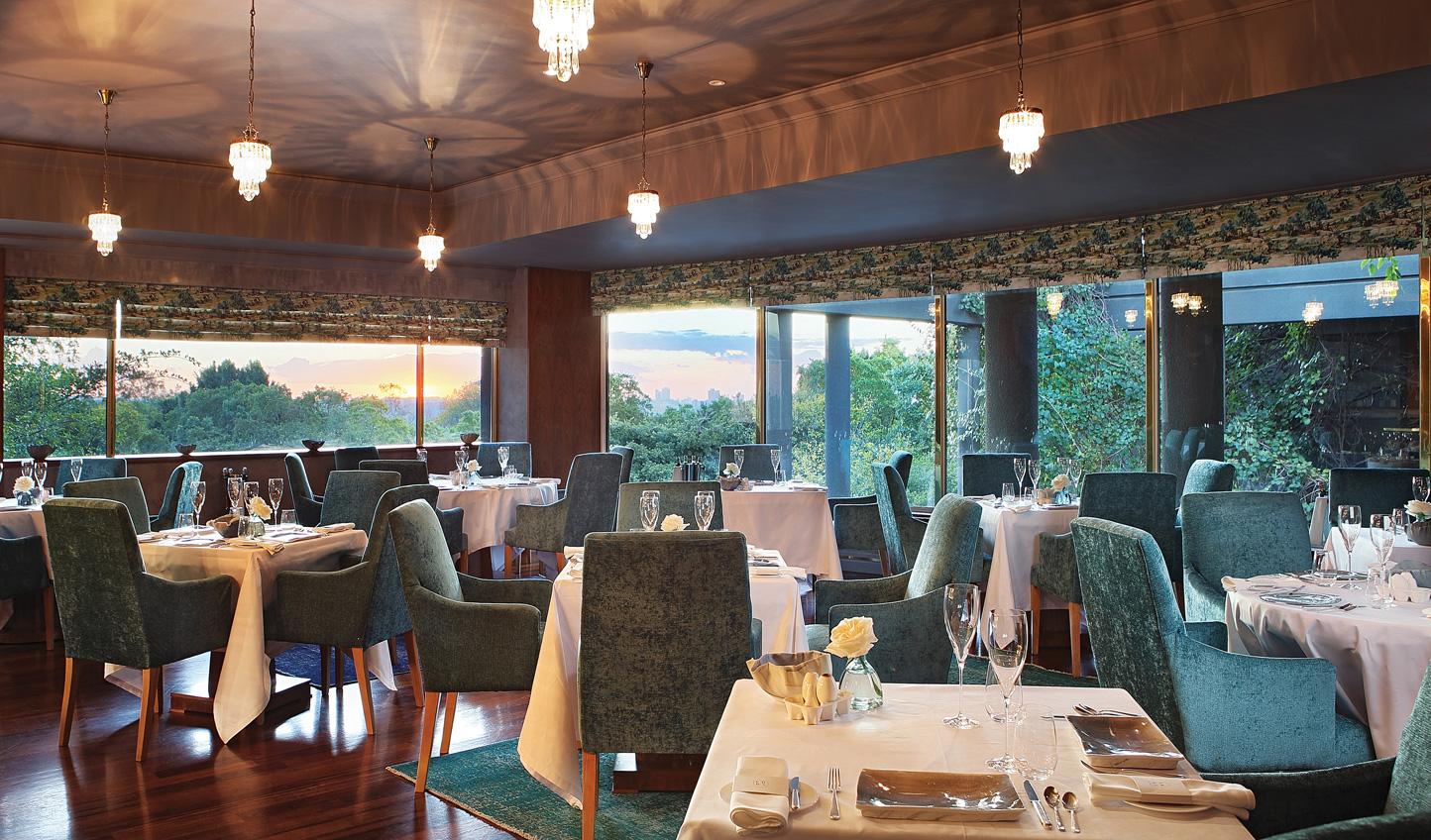 Fine dining at Luke Dale Roberts x The Saxon