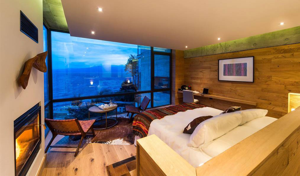 Idyllic views of Chilean Landscape from the suite