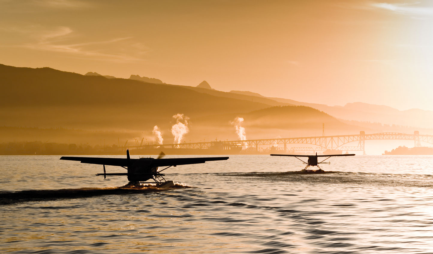 Hop on a float plane to Vancouver Island