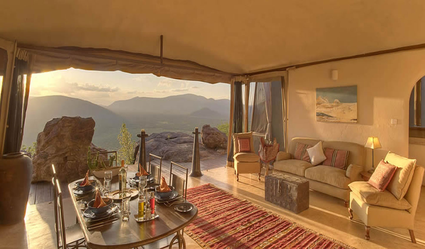 The lavish Samburu lounge