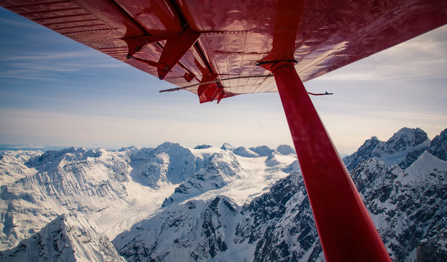 See Denali National Park from the sky