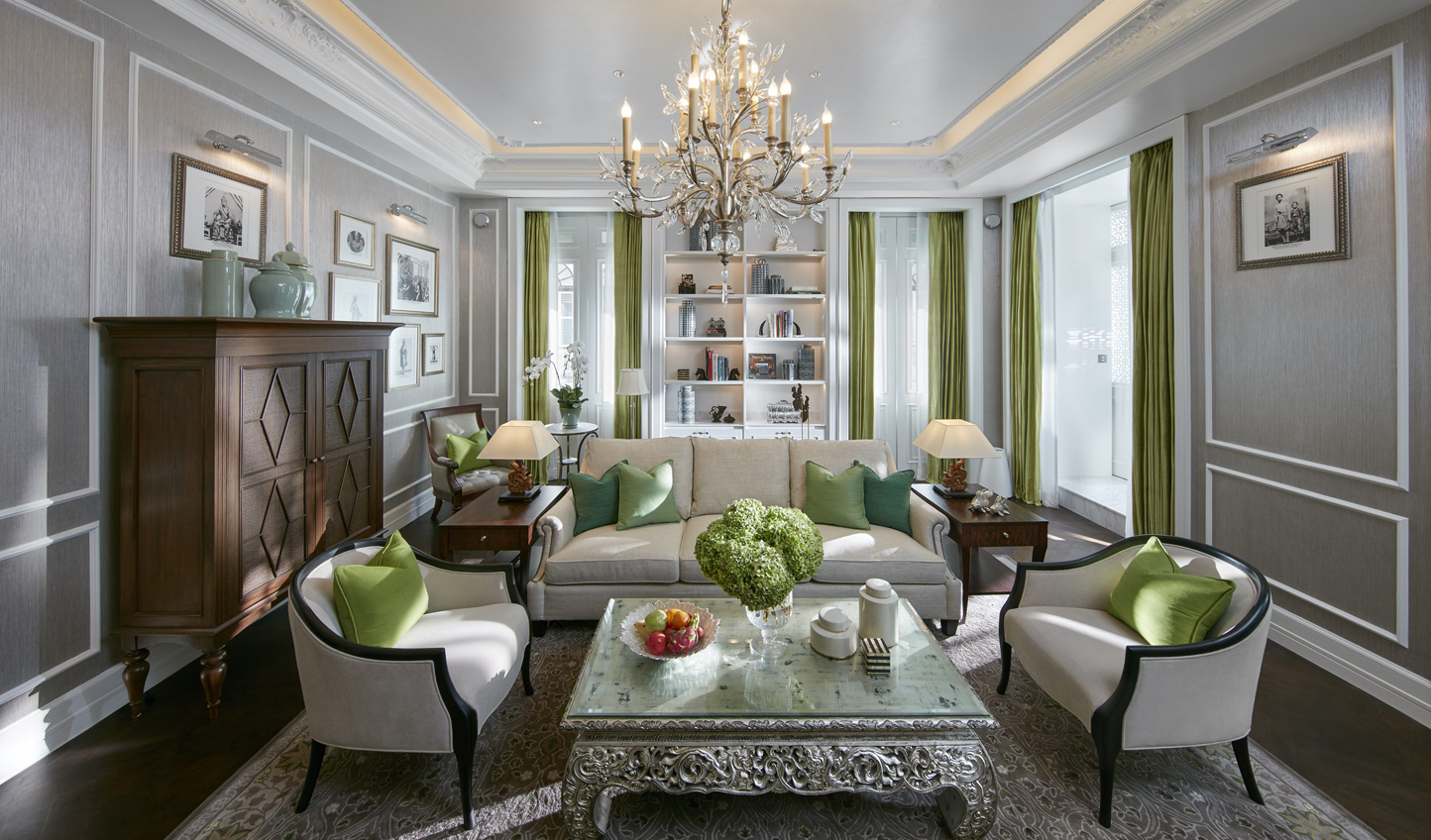 Elegant decor with hints of colour breathe fresh air into this oasis in the city